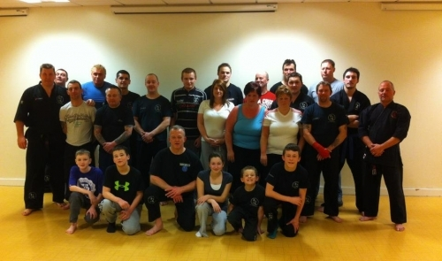 Total Body Defence Pontypool 020212 Opening Night