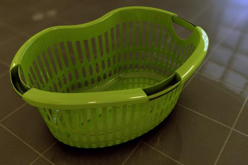Laundry basket for Ecomold