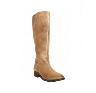 Second Tread Footwear Long Knee High Leather Boot