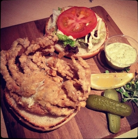 Crab Burger