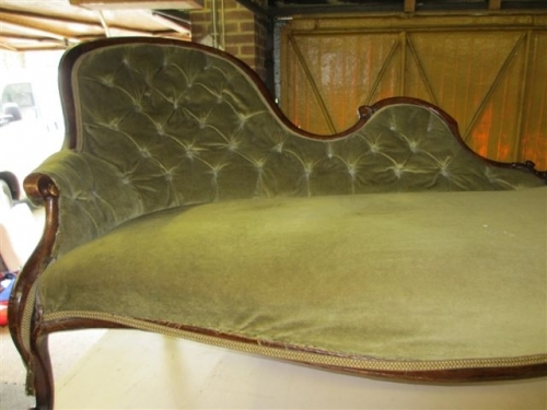 Chaise longue before