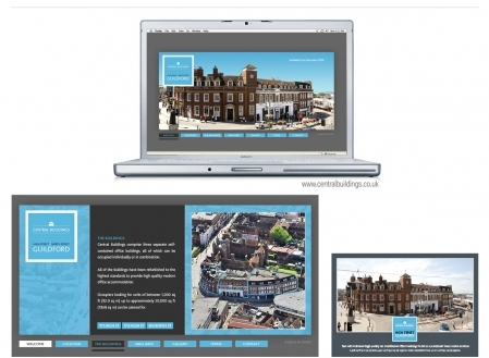 Website, brochure and marketing collateral - FC Reit, Guildford