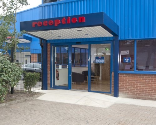 Titan Self Storage Littlehampton Reception