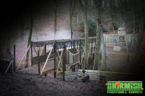 Bridge at Paintball Devon