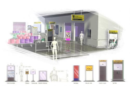 Corporate House Style - development of products across all areas of the airport for BAA