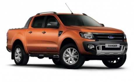 All New Ranger Wildtrak Orange