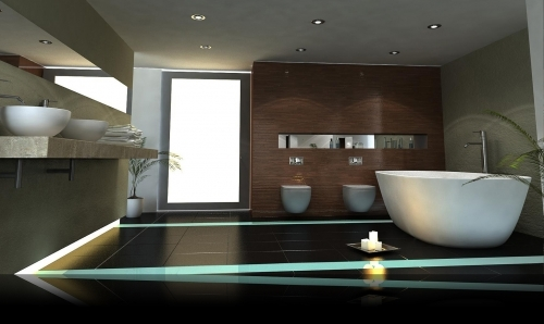 Contempoary bathroom design