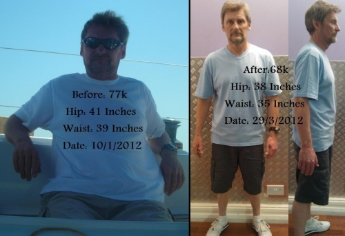 Client John Before & After Shots