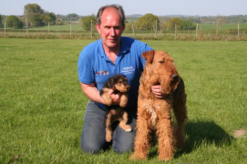 Brian with Toby and Lucy