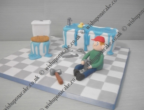 Plumber Cake