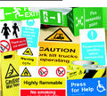 Free Delivery on Safety Signs.