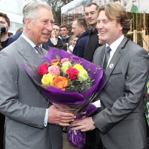 Prince Charles Ideal Homeshow also seemed to enjoy our Roses
