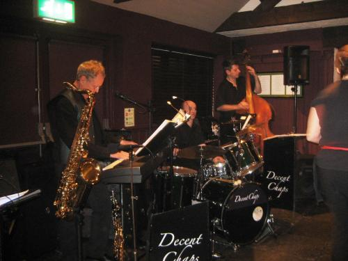 DECENT CHAPS LIVE AT THE GREGORY HARLAXTON