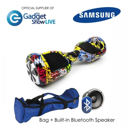6.5 INCH CLASSIC HOVERBOARD SWEGWAY IN COMIC STRIP