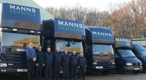 Manns Removals has a fleet of specialist vehicles and a team of experienced staff