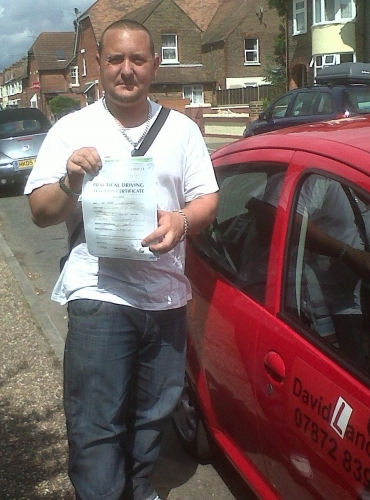 Mark Walkett 1st time pass