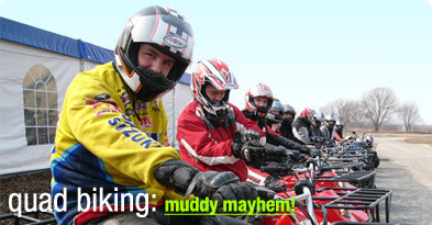StagWeb's quad biking stag do activity is the ideal option for a stag do- ride manual and automatic quads in a variety of terrific destinations.