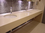 Vanity tops in Marble, Granite and Quartz. Bathroom work tops. Vanity tops and bathroom counter top Surrey, Berkshire, Hampshire