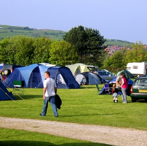 Camping at Middlewood Farm