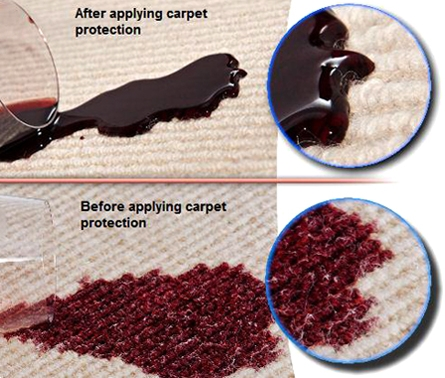 carpet and upholstery protection.