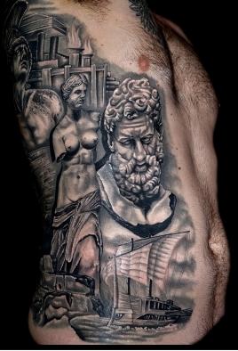 Sculpture tattoo