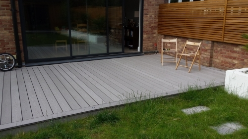 Composite decking East London