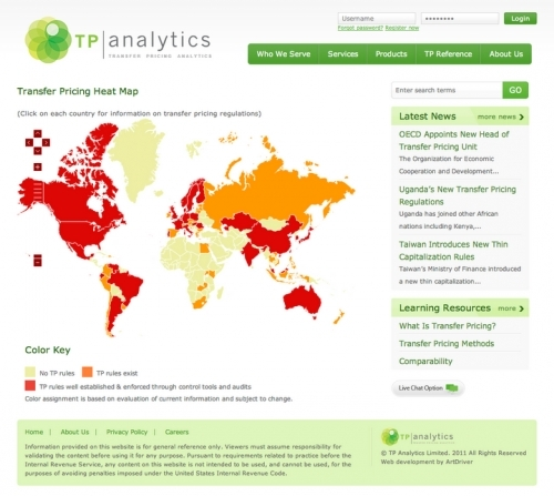 Tp Analytics Web Design