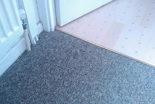 Carpets repaired
