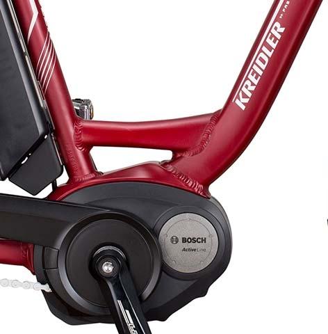 Kreidler Electric Bike powered by Bosch