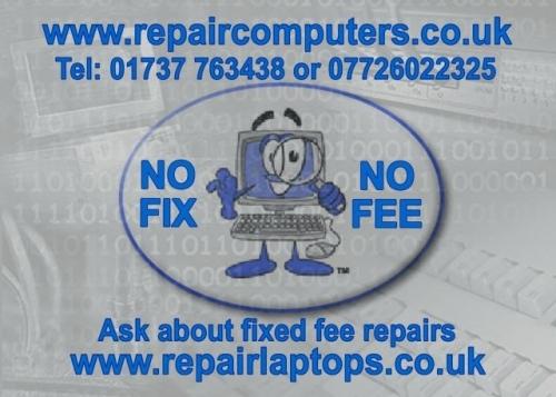 Repaircomputers Business Card
