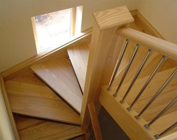 STAIRS, BESPOKE, also just new spindles handrails etc.