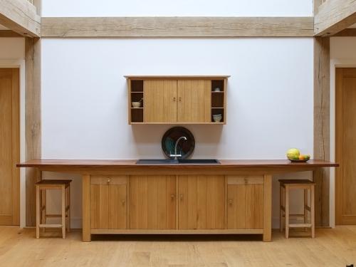 Oak Sideboard And Cupboard 1