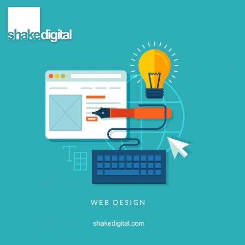 Website Design - Edinburgh | Shake Digital