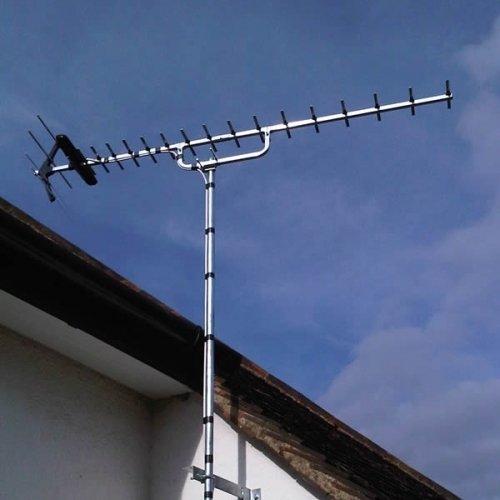 Newly installed Freeview Aerial in Bristol