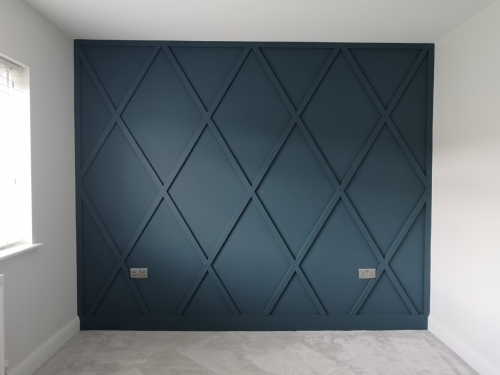 JJM Decorating - Feature Wall