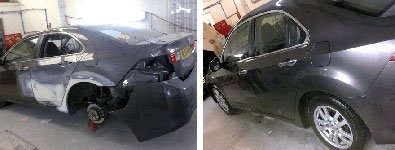 Insurance Repair Before After New