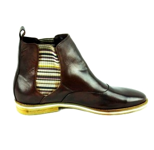 Second Tread Footwear Leather Wine Colour Boot