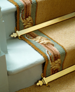 Royale triangular stair rods