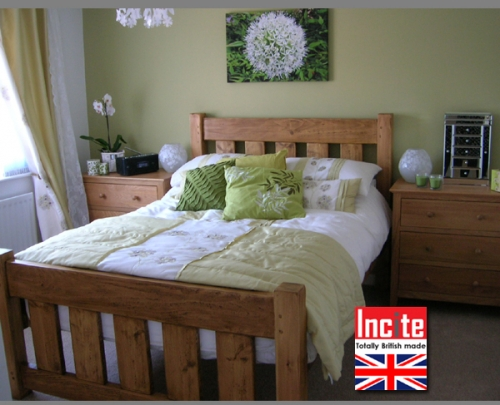Plank Slat Bed