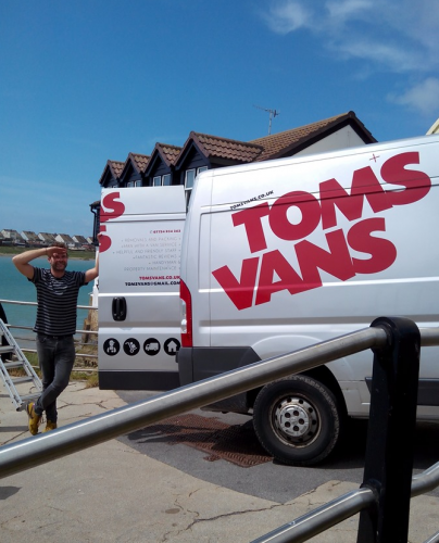 Great service ahoy! Choose Tom's Vans - Your Local Removal Service if you need an extra special service - Your Local Man with a Van