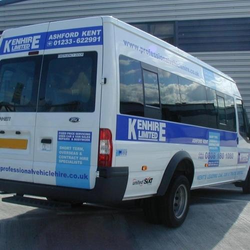 Kenhire Minibus 17 Seater