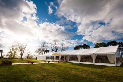 Wedding Marquee Northumberland