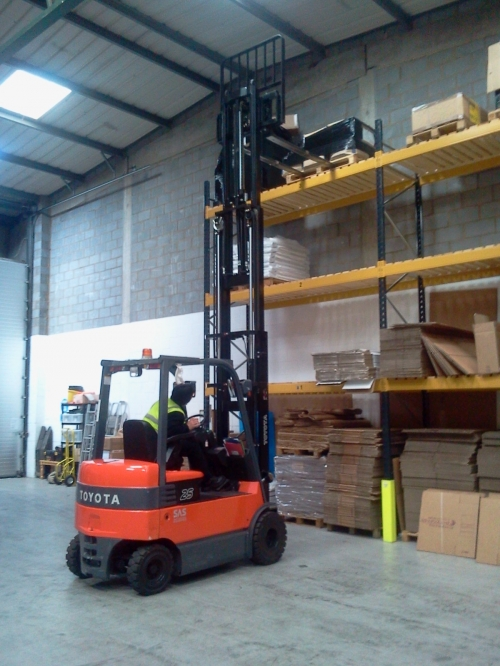 Forklift Training - Our Centre or at Your Premises