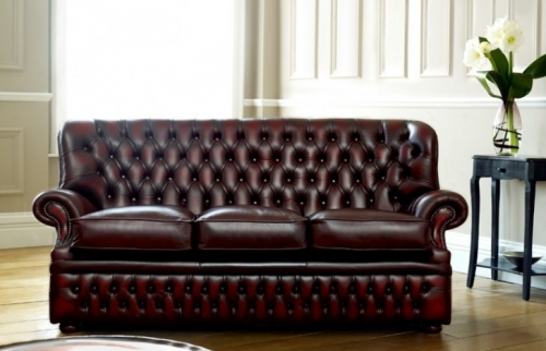 Monks Red Chesterfield