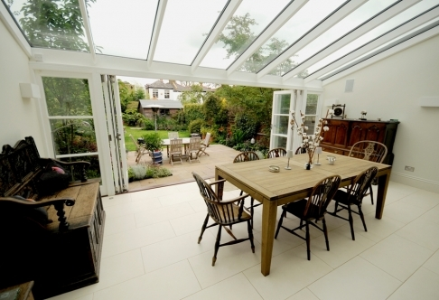 Bi-Folding doors bring the outside in