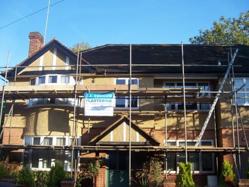 external plastering hertfordshire