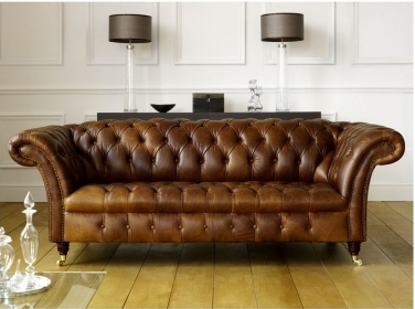 Buttoned Seat Sofa