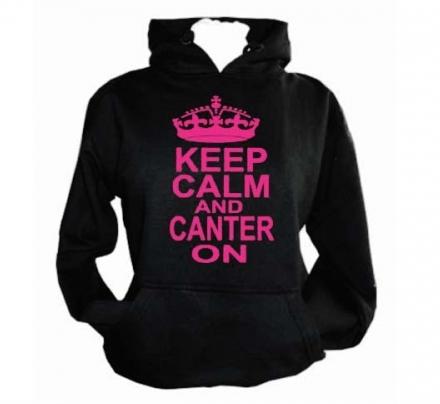 Keep Calm Canter On Hoodie