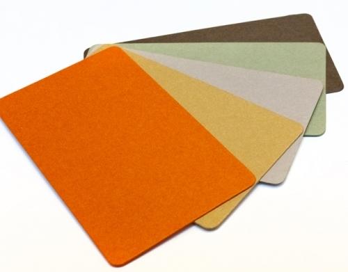 Colour Pulp Cards