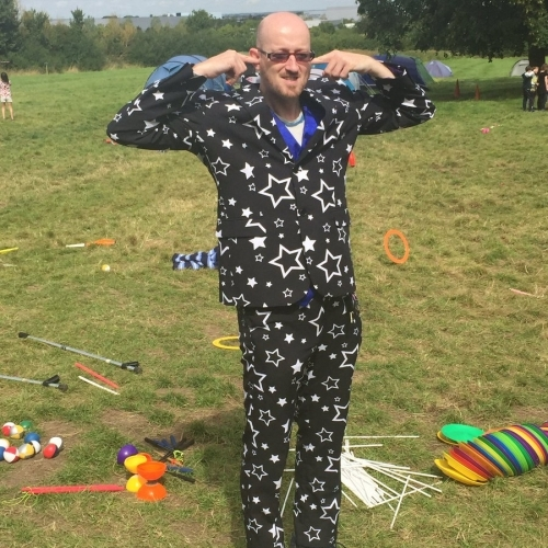 I am out standing in my field! Drop-in Circus Workshop
